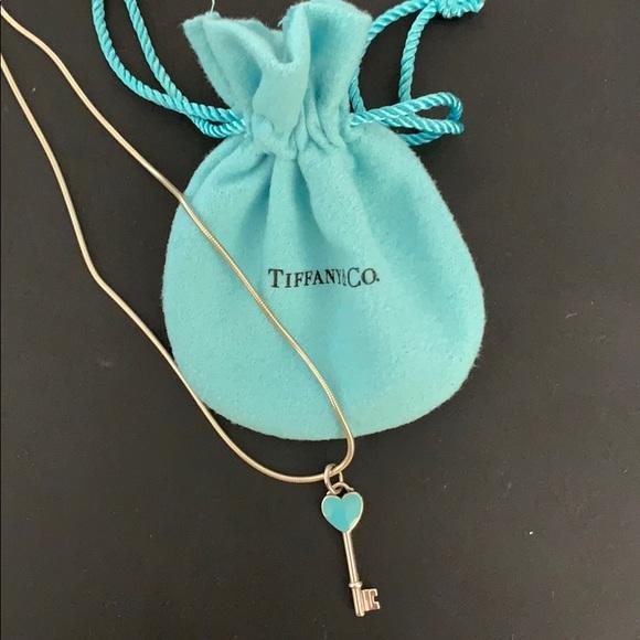 f88b83c128e Tiffany & Co. Jewelry | Tiffany Heart Key Pendant | Poshmark